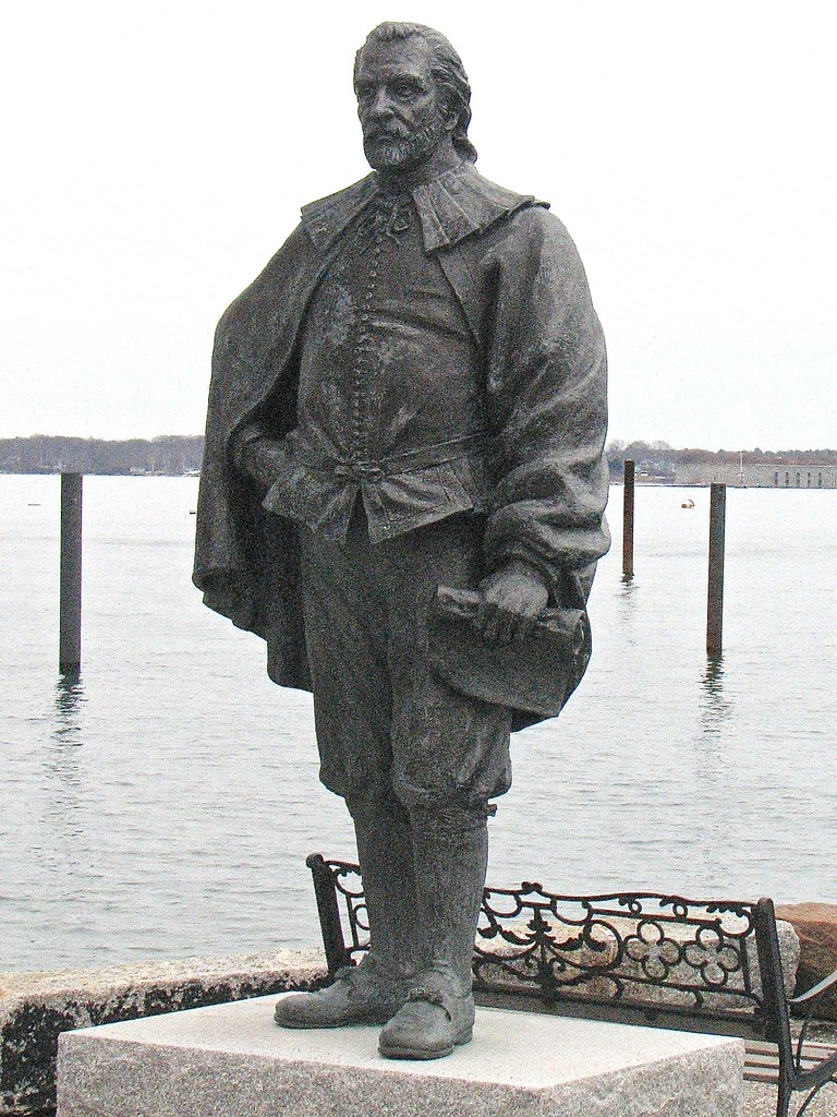 George Cleeve Statue Founder Of Portland Maine 1633