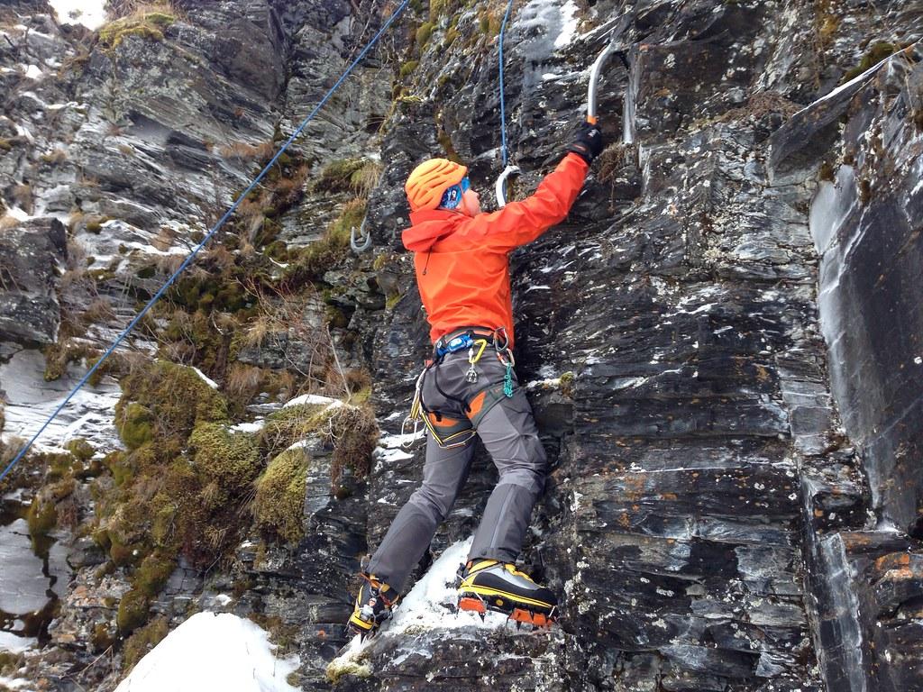 Aleksi rocking the Traditional Scottish Mixed clinic