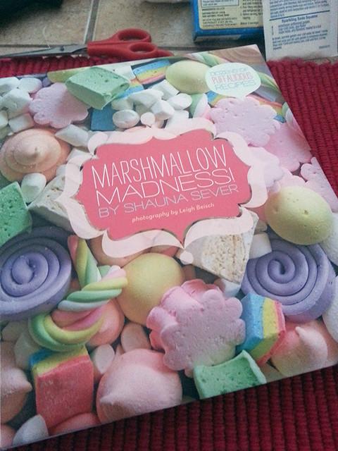Marshmallow recipe book!