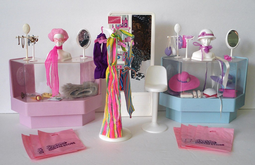 Barbie Dream Store Fashion Department