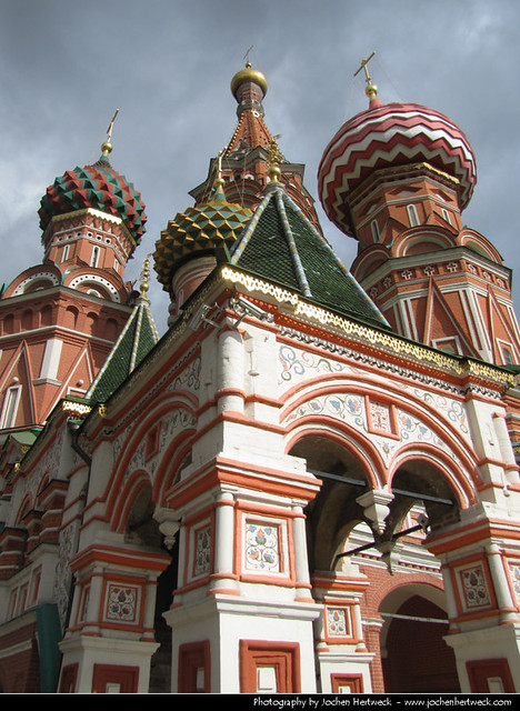 Saint basil s cathedral moscow