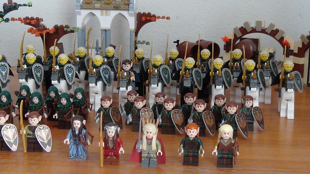 My Lego Hobbit Elf Army My Lego Hobbit Elf Army With