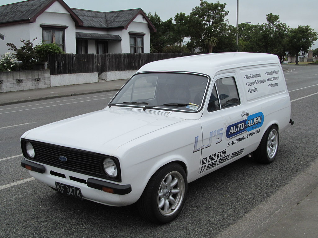 1981 Ford Escort Van This Belonged To A Garage Just A