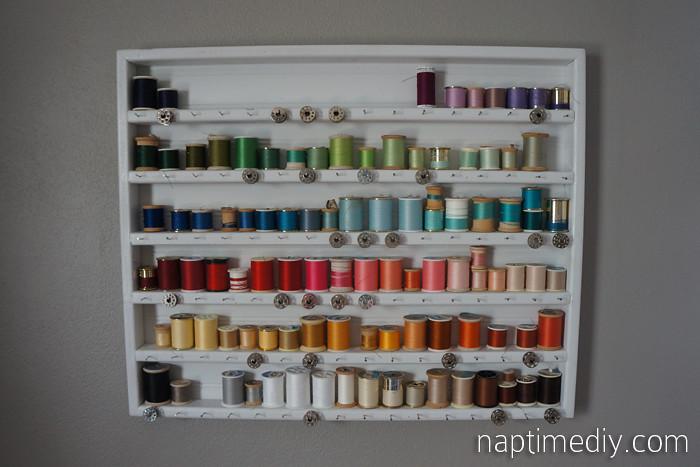 Thread Holder 9 Diy Thread Holder Ashley Flickr