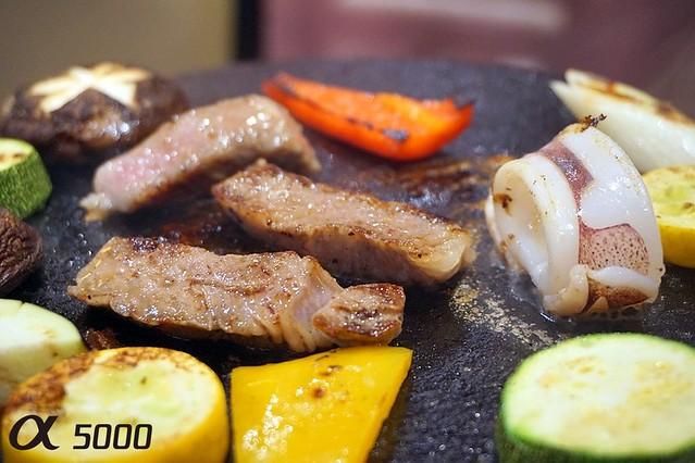 Ju.Ne Japanese Restaurant Publika - Saga Beef , hot plate -011