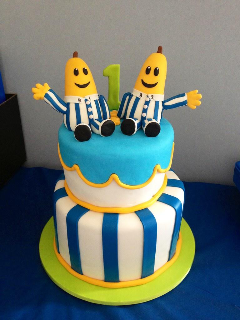 Banana Pyjamas Cake