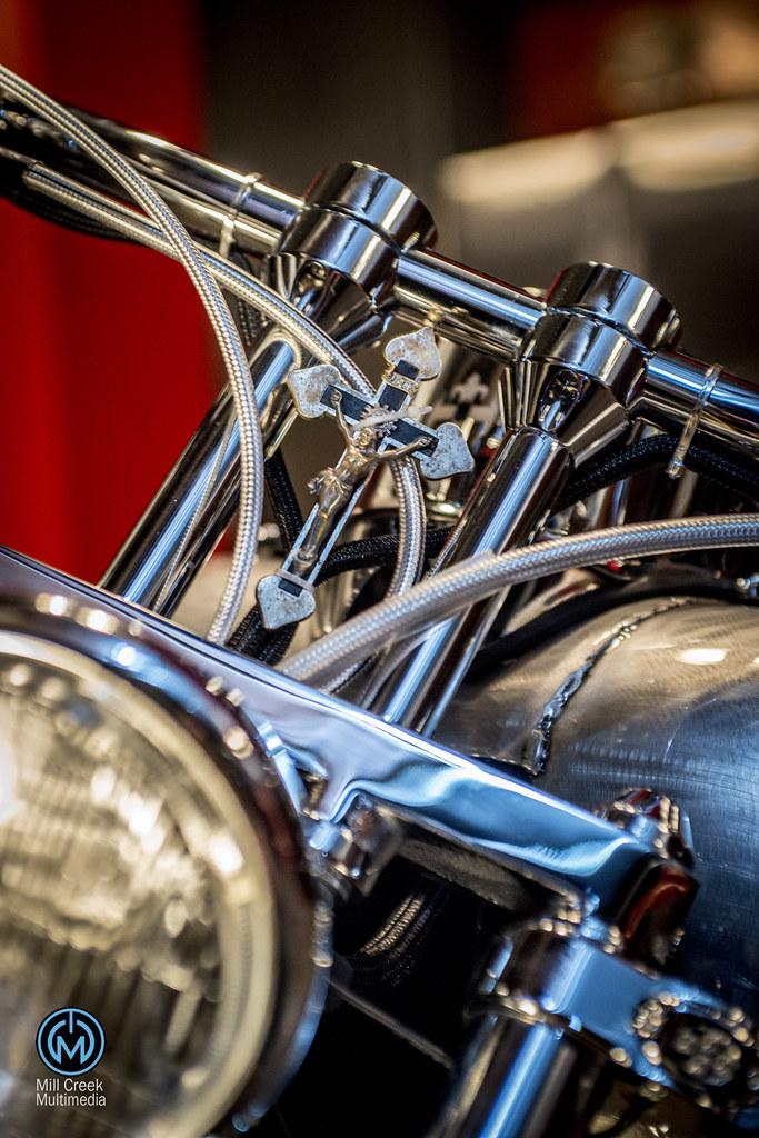 A Cb F B on Harley Fxr