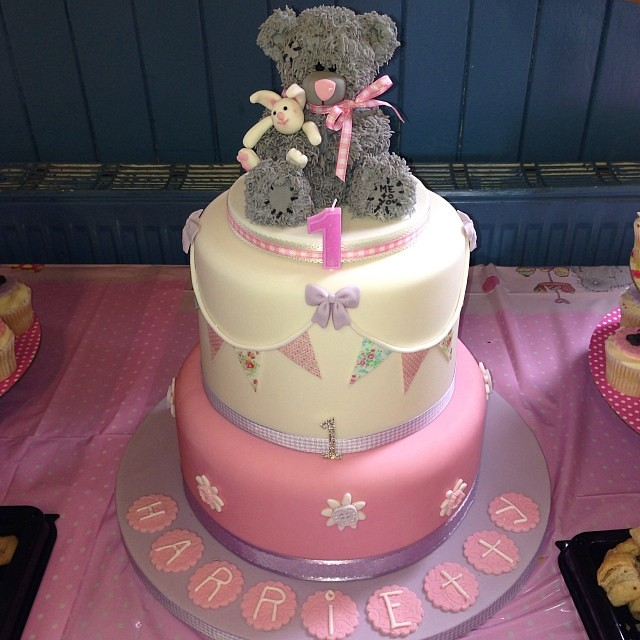 Birthday Cake Image To Me : Christening and 1st Birthday Cake. Tatty Teddy. Me to You ...
