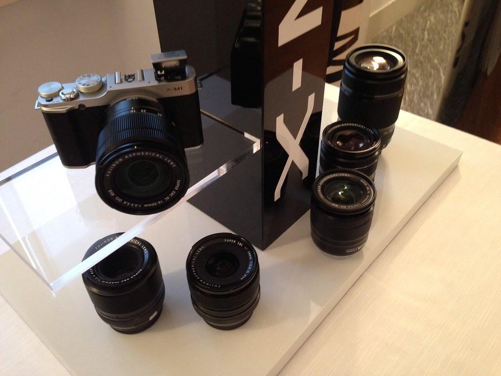 Lancio fujifilm x m1 la nuova macchina fotografica compatt for Macchina fotografica compatta