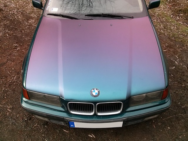 bmw e36 318 tds compact bostongr n green purple flickr. Black Bedroom Furniture Sets. Home Design Ideas