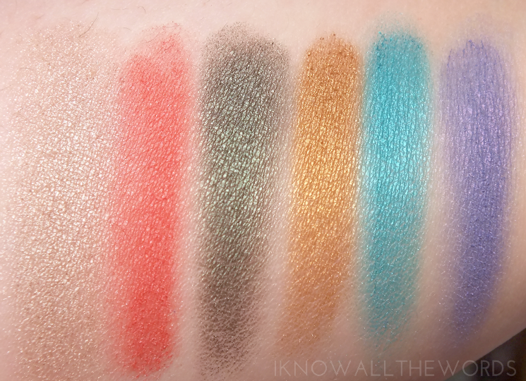 sephora collection iconic looks makeup palette swatches + urban chic eye look (5)
