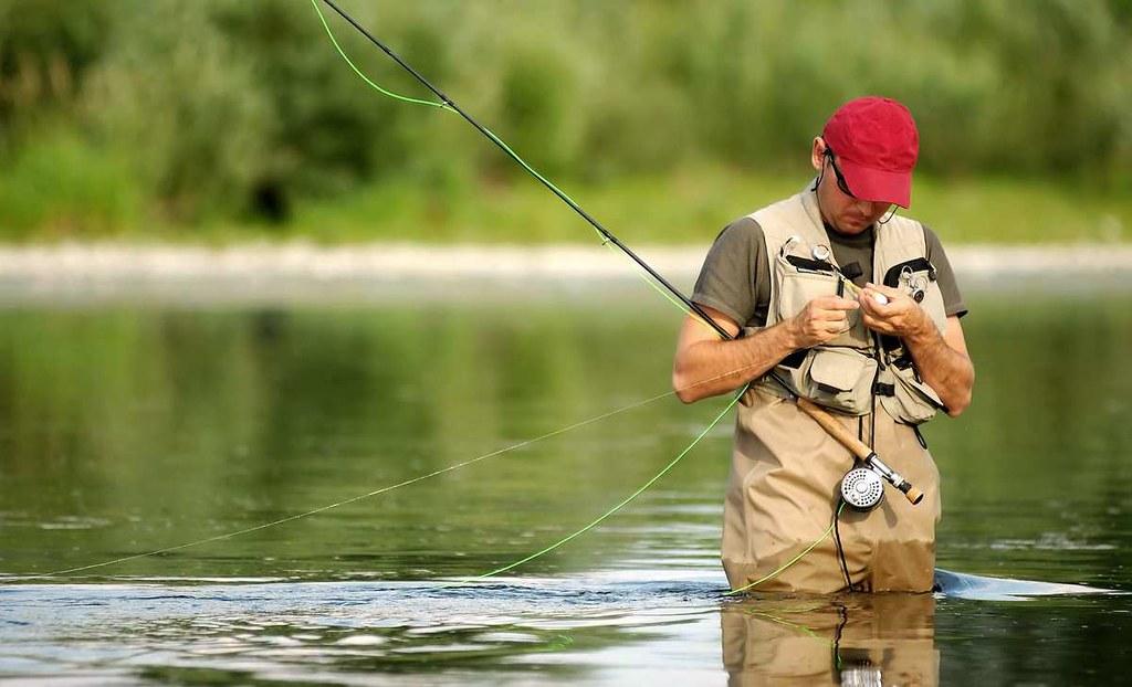 природа охотника и рыболова