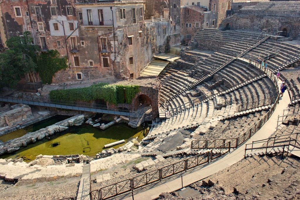 Greek-Roman Theatre in Catania, Sicily   Alexander Baxevanis   Flickr
