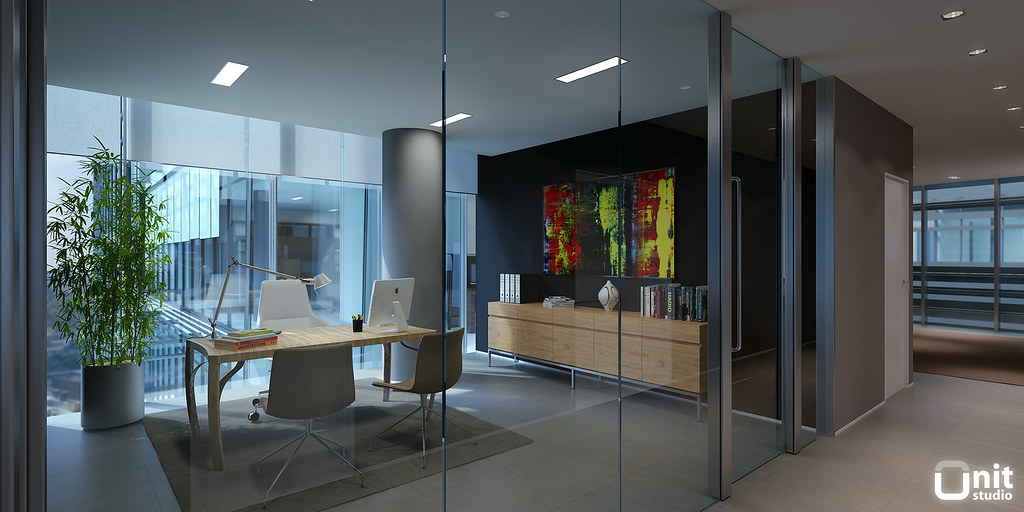 Eva tower executive office unit studio flickr Office design 3d