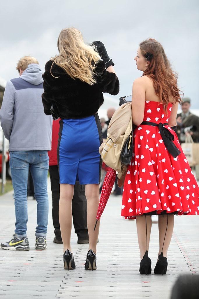 Tight Skirt Goodwood Revival 2013 4foot2 Flickr