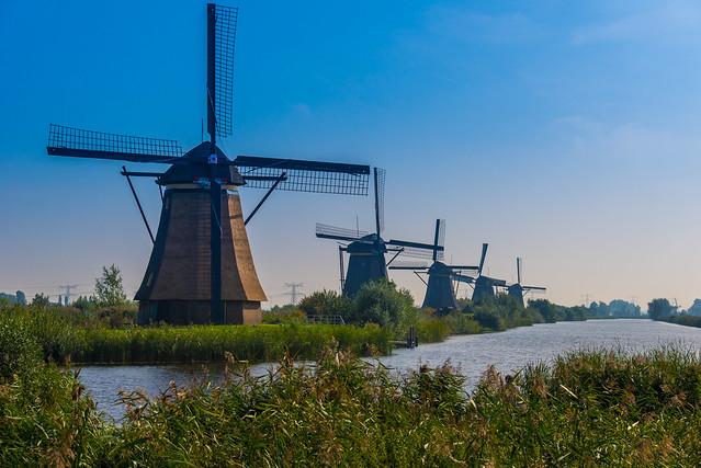Bezienswaardigheden Nederland Top 10 - Kinderdijk