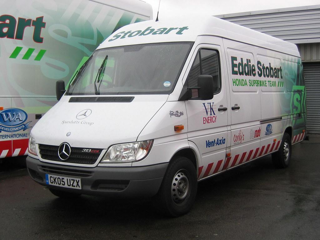 Mercedes Sprinter Van >> GK05UZX Eddie Stobart Mercedes Sprinter Van   Silverstone   Graham Tiller   Flickr