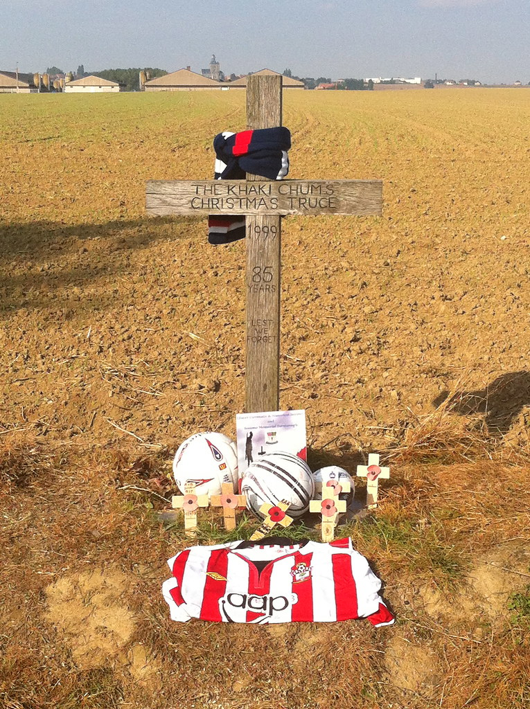 IMG_3017   Site of Christmas Truce football game in 1914. Ba…   Flickr