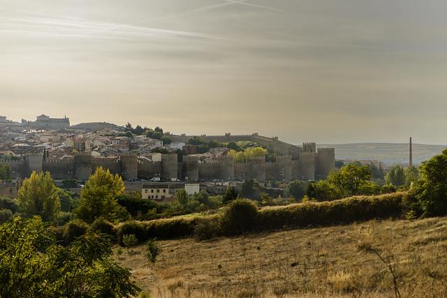 Hradby starobylého mesta Avila