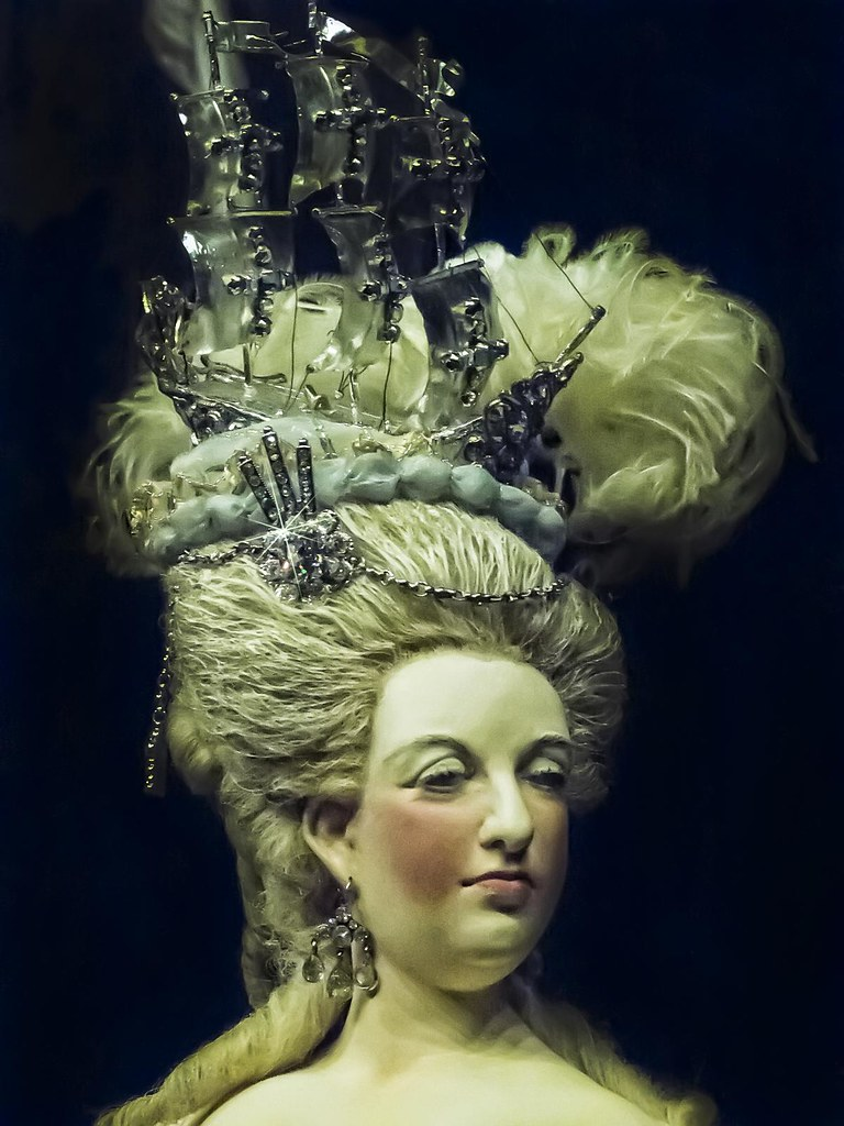 Closeup Of Queen Marie Antoinette By Artist George Stuart