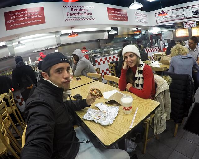 Five Guys, uno de los restaurantes donde comer en Nueva York barato