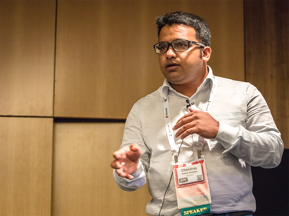 Chandra Sekhar Saripaka, Senior Data Engineer at DataSpark, was one of two speakers from DataSpark who spoke at Strata + Hadoop World 2016 in Singapore.