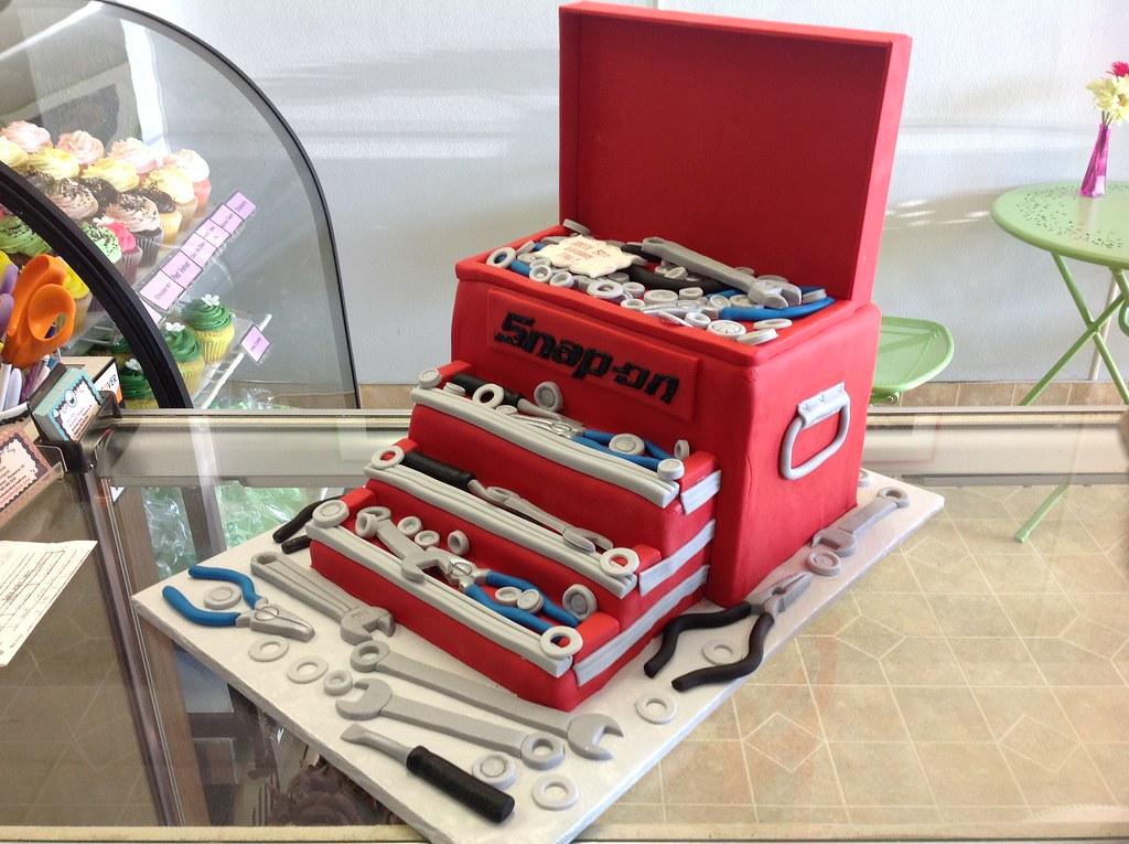 Birthday Cake Tool Box