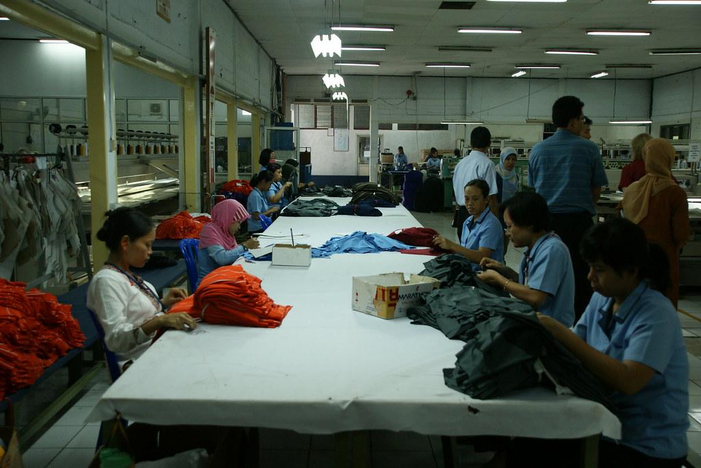 Pt kukdong international a garment factory in indonesia for Dekor international pt