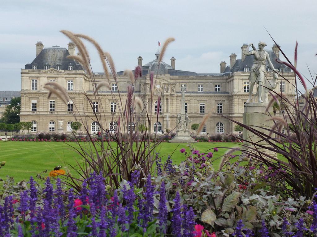 Paris france le palais et le jardin du luxembourg flickr for Le jardin 3d