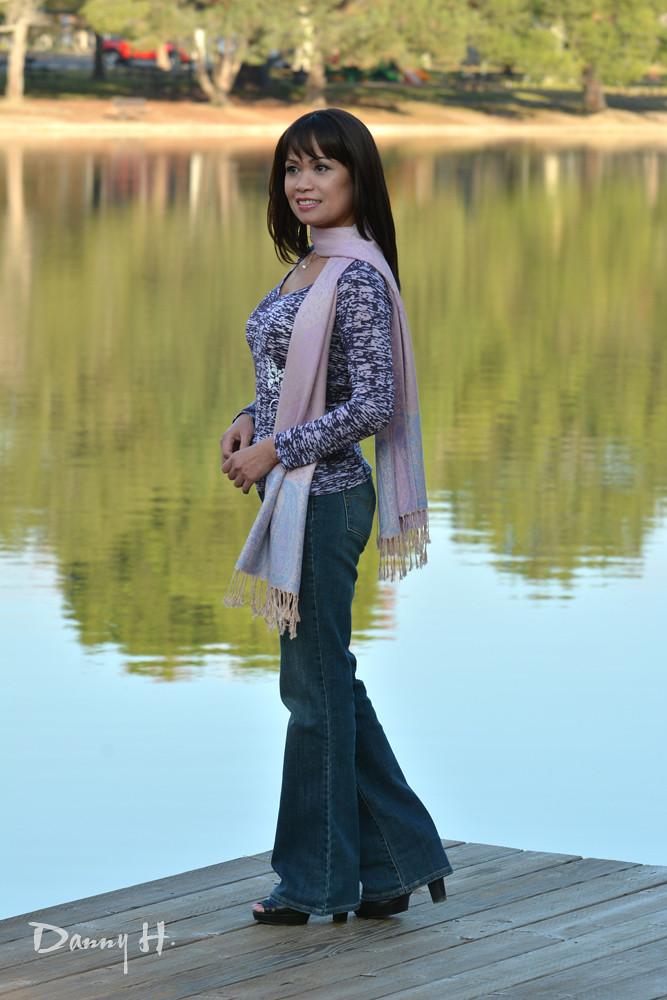 White Jeans Women