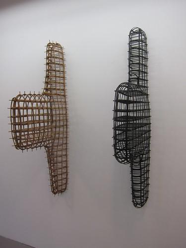 Bård Breivik: Konstruksjon (bambus + bronse)