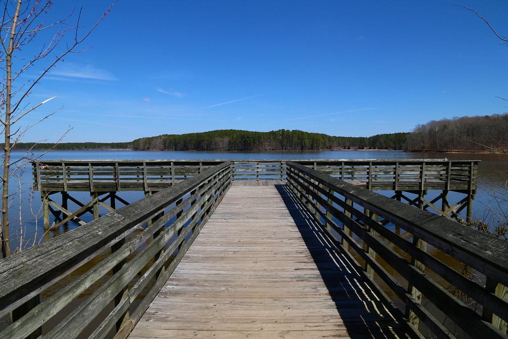 Day 83 fishing pier 03 24 14 falls lake state for Falls lake fishing report