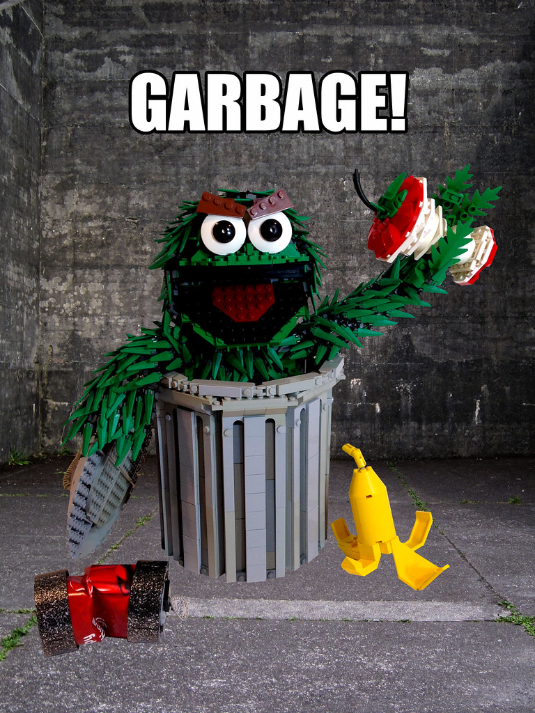 Oscar The Grouch You Know What Oscar Says To Those