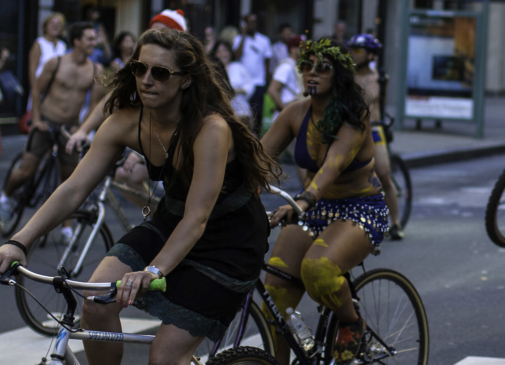 Philly Naked Bike Ride 2012 - 52 pictures from the