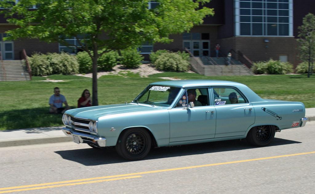 1965 Chevrolet Chevelle Malibu 4 Door Sedan Coconv Flickr