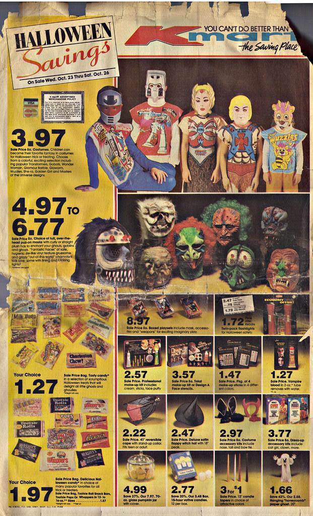 kmart halloween savings random newspaper supplement flickr - Kmart Halloween