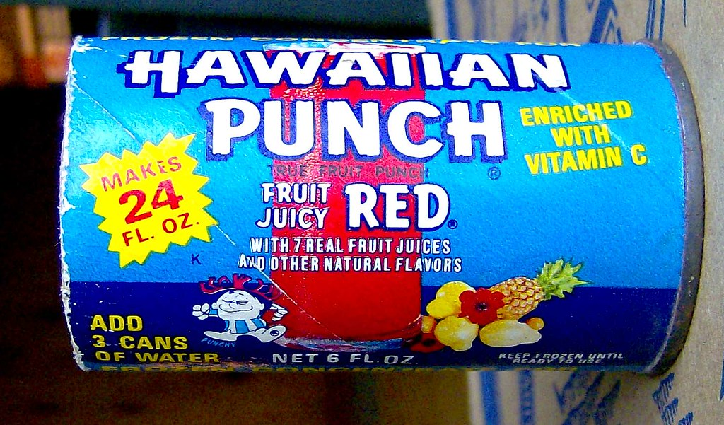1970s Hawaiian Punch concentrate can | from a different ... Computer Games