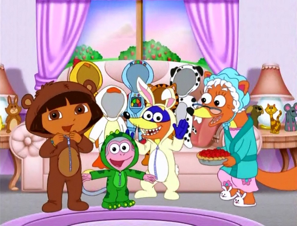 Dora the Explorer Swiper's Favorite Things. | Giovanni M ...