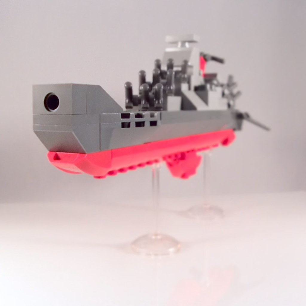 lego mini space battleship yamato i loved star blazers as flickr. Black Bedroom Furniture Sets. Home Design Ideas