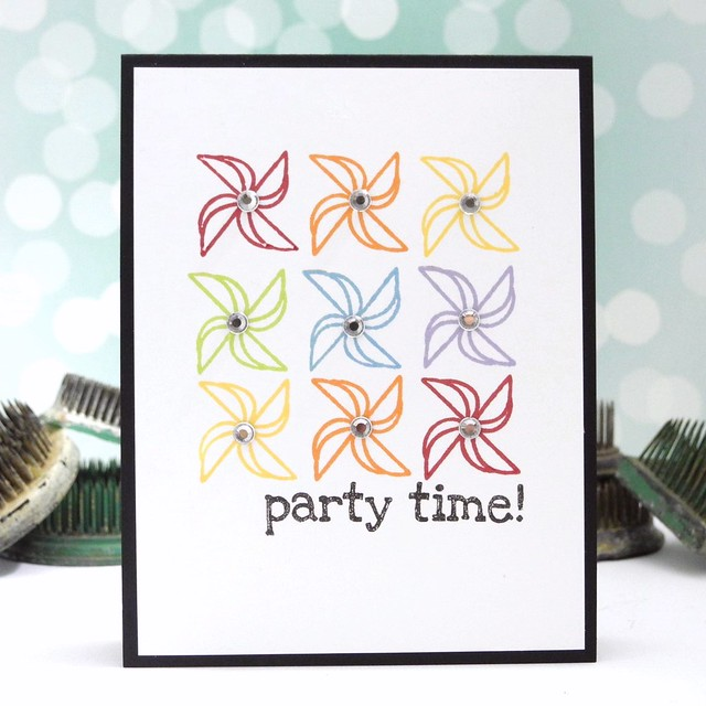 Party Time by Jennifer Ingle #JustJingle #stamplorations #cards