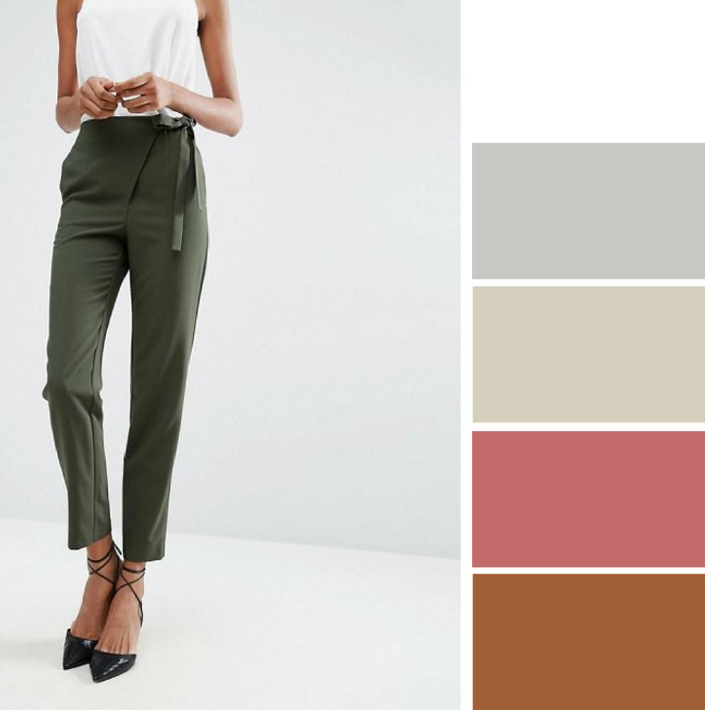 Como Combinar Tu Ropa Pantalones Verde Militar Rebuscando En El Armario