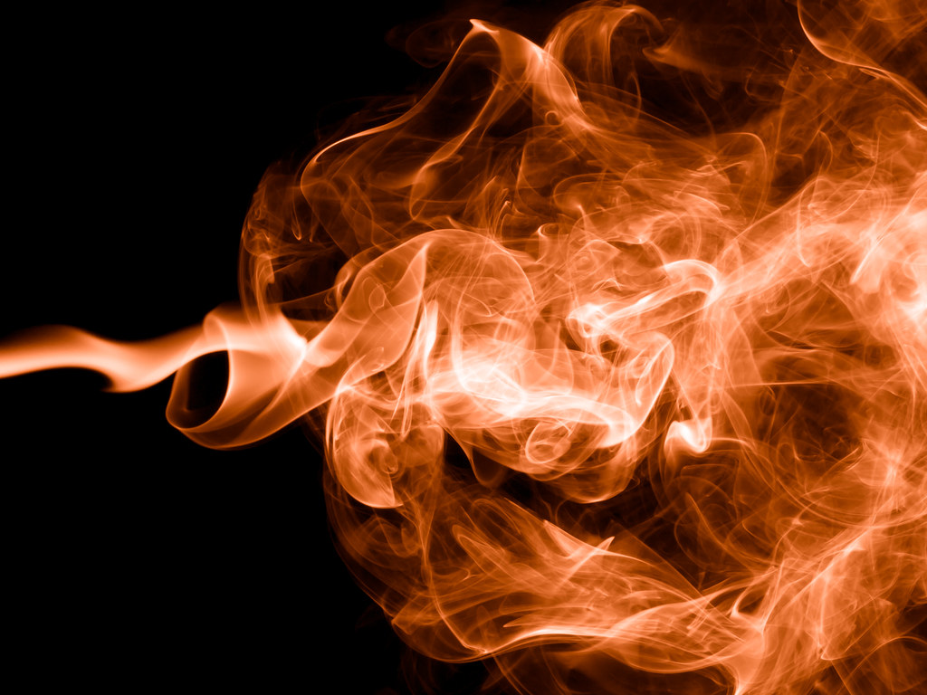 Smoke Plume Smoke Plume From A Burning Incense Stick