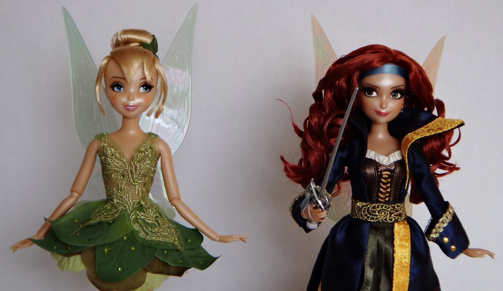 Tinker Bell And Zarina Limited Edition Designer Dolls Us