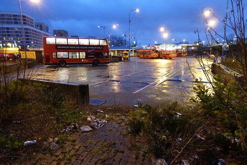 Lewisham Bus Station's final day 024