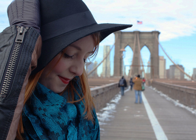 Top UK Fashion and Lifestyle Blogs, NYC Outfit, Brooklyn Bridge