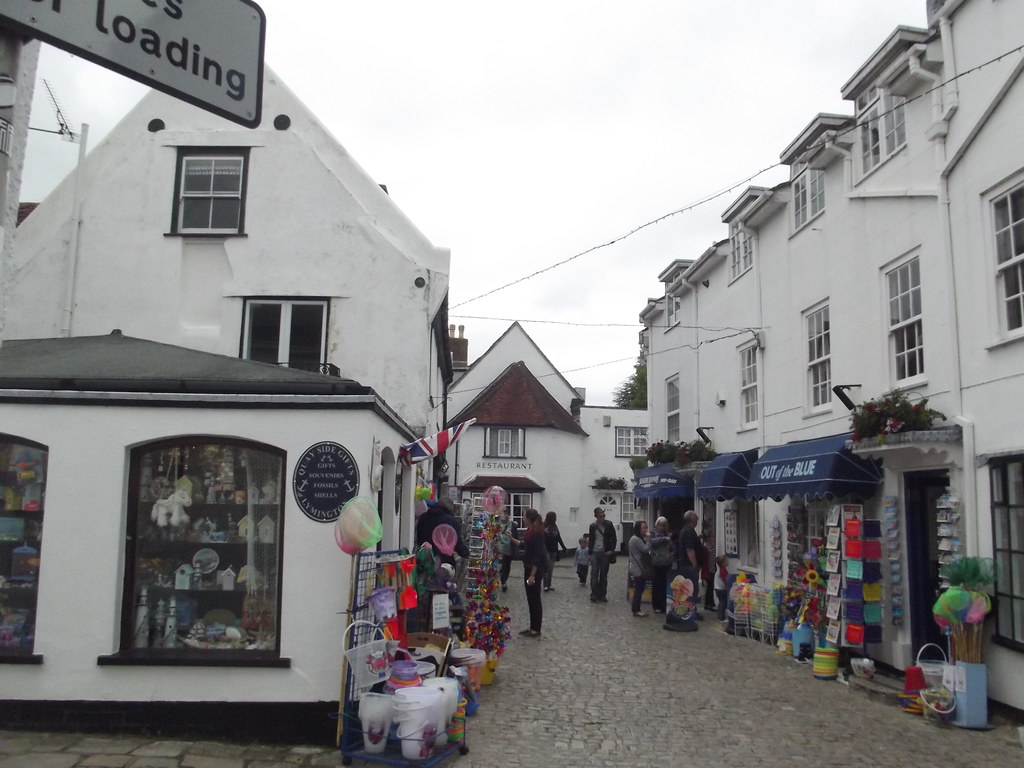 Quay Side Gifts And Out Of The Blue Quay Street Lymingt