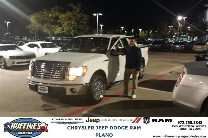 Huffines Dodge Plano >> Thank you to Victor Droguett on your new 2012 #Ford #F-150… | Flickr