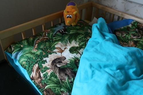 Dino deken voor Jens