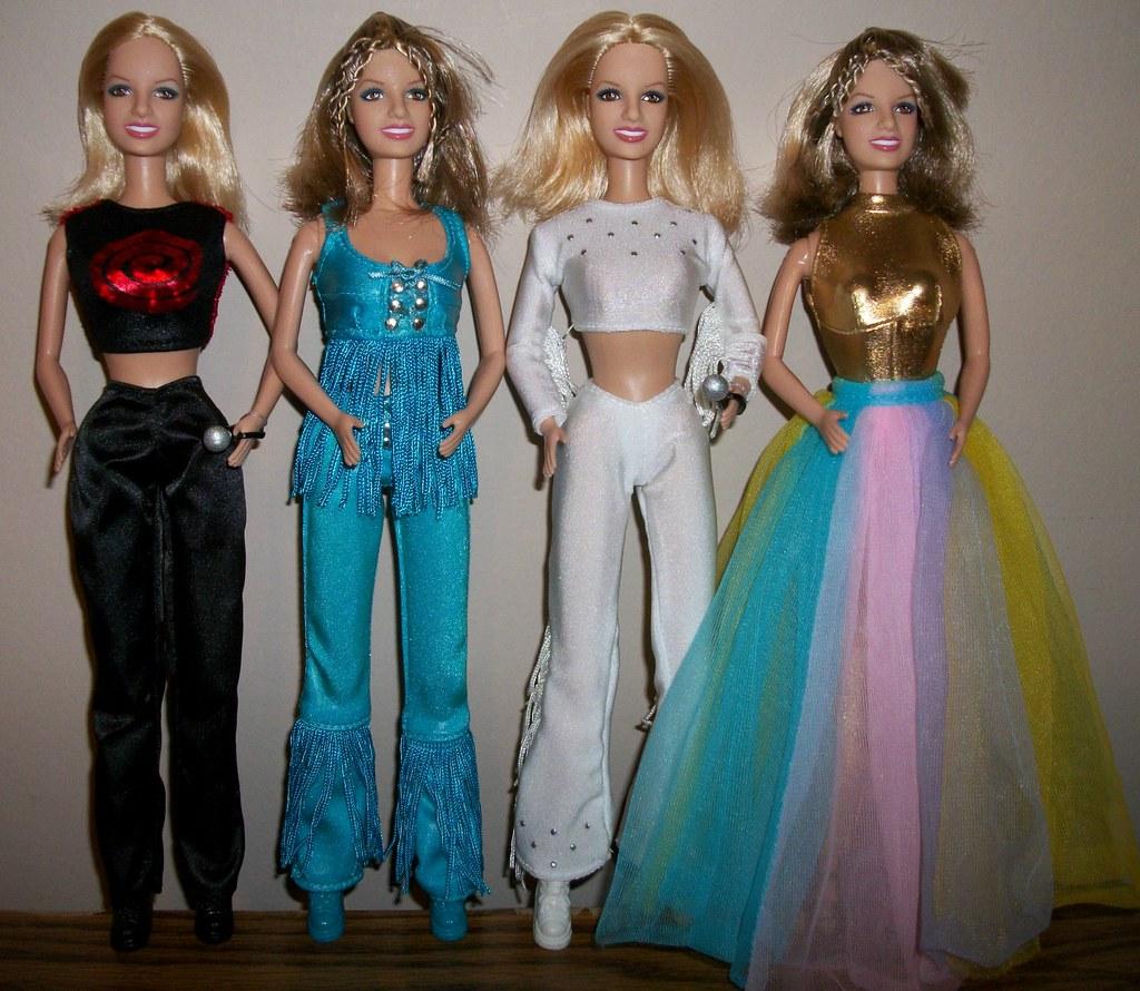 Britney Spears Live in Concert Crazy 2K Tour Dolls  Flickr