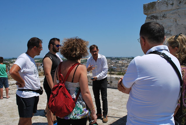 Rutigliano- Pro Loco lieta di festeggiare ancora un successo di visitatori per la Torre Normanna e il Centro Storico di Rutigliano. (4)